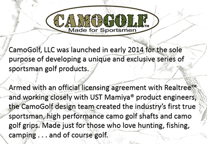 CamoGolf Purpose Statement