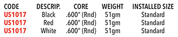 UST Mamiya Tour PC 360 Grip Specifications