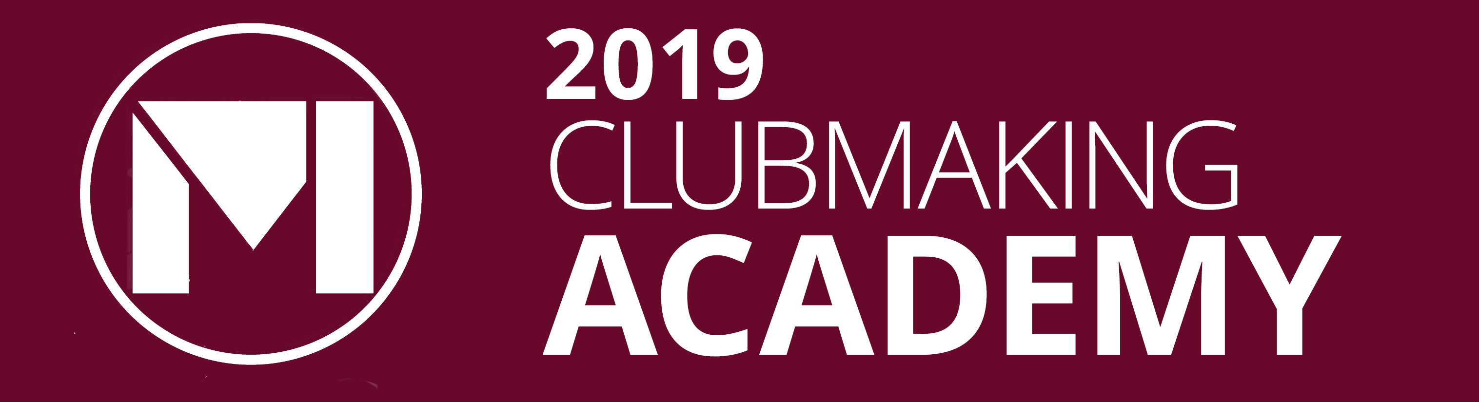 Maltby 2018 Clubmaking Academy