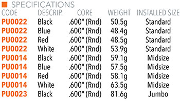 Pure Wrap Grip Specifications
