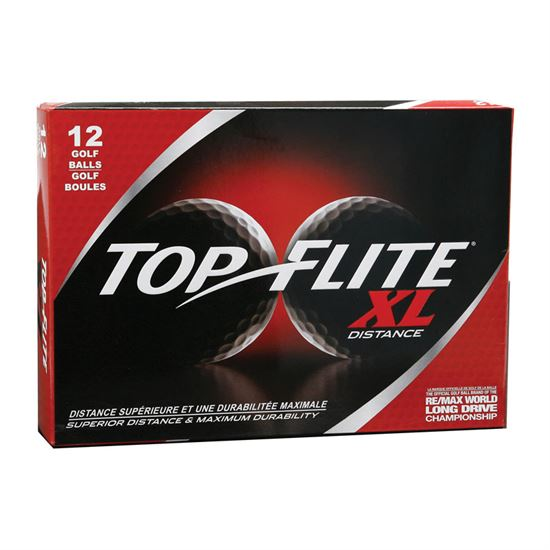 Top-Flite XL Distance Golf Balls (3 Dozen Special)
