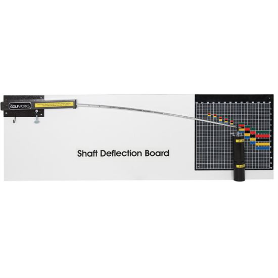 Maltby Design Golf Shaft Deflection Board
