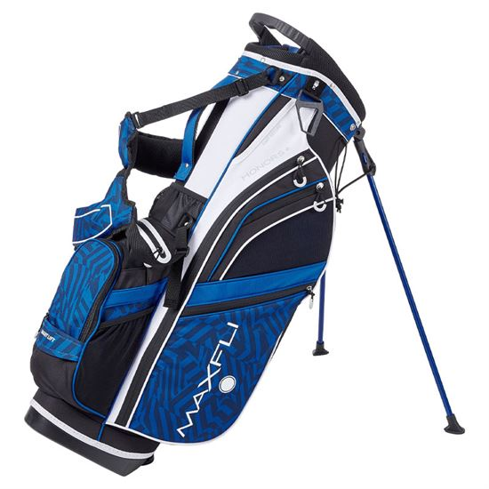 Maxfli Honors Plus Stand Bag - White-Blue