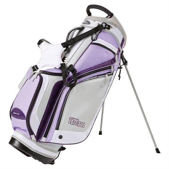Top-Flite Flawless Stand Bag - Gray/Purple