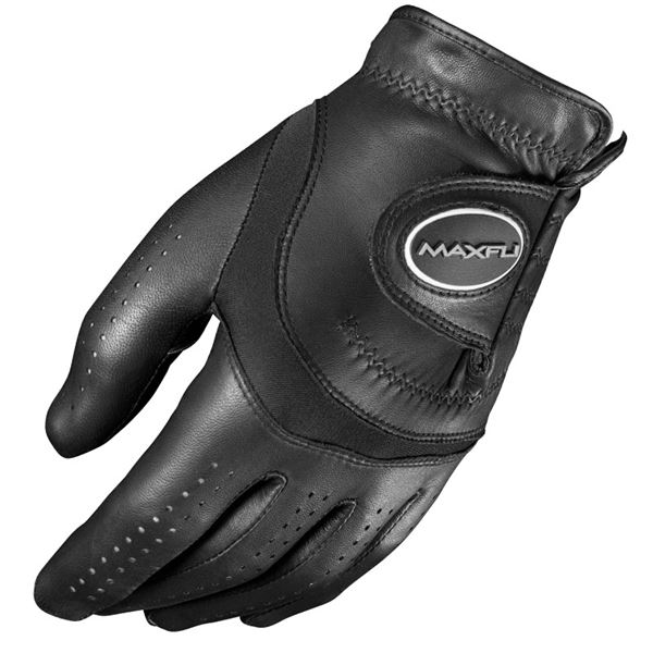 Maxfli Tour Black Cabretta Leather Golf Glove